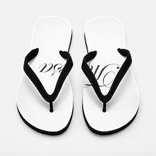 Theresa-Edw gray 170 Flip Flops
