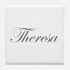 Theresa-Edw gray 170 Tile Coaster