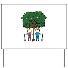 Planting a Tree Yard Sign