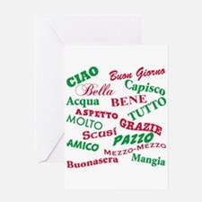 Italian Sayings Greeting Card