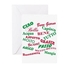 Italian Sayings Greeting Cards (Pk of 20)