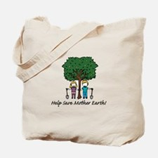 Help Mother Earth Tote Bag