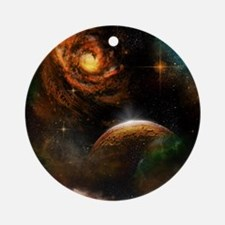 Awesome universe Ornament (Round)