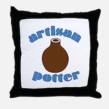 Artisan Potter Throw Pillow