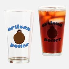 Artisan Potter Drinking Glass
