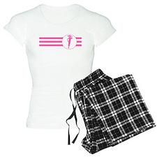 Runner Stripes (Pink) Pajamas