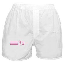 Runner Stripes (Pink) Boxer Shorts