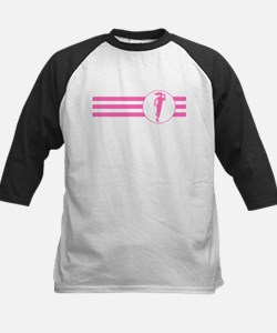 Runner Stripes (Pink) Baseball Jersey