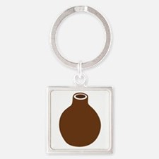 Brown Vase Keychains