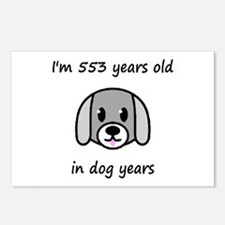 79 dog years 2 - 2 Postcards (Package of 8)