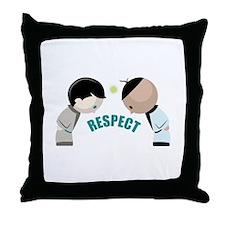 Respect Throw Pillow