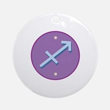 Sagittarius Sign Ornament (Round)