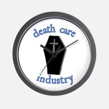 Death Care Industry Wall Clock