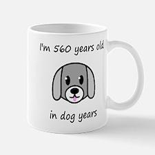 80 dog years 2 Mugs