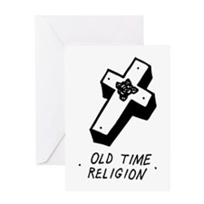 Old Time Religion Greeting Cards
