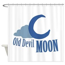 Old Devil Moon Shower Curtain