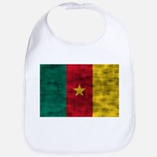 Distressed Cameroon Flag Bib