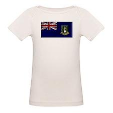 Distressed British Virgin Islands Flag T-Shirt