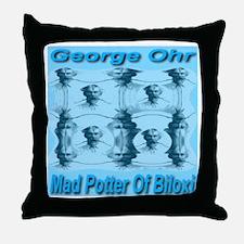 George Ohr Throw Pillow