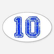 10-Col blue Decal