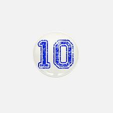 10-Col blue Mini Button