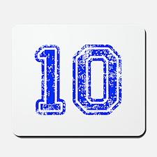 10-Col blue Mousepad