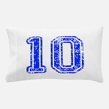 10-Col blue Pillow Case