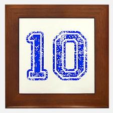 10-Col blue Framed Tile