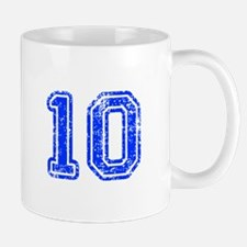 10-Col blue Mugs