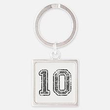 10-Col gray Keychains