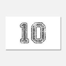 10-Col gray Car Magnet 20 x 12