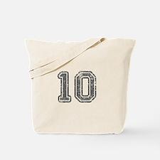 10-Col gray Tote Bag