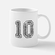 10-Col gray Mugs