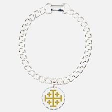 Crusaders Cross Bracelet
