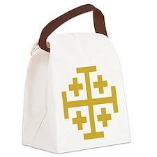 Crusaders Cross Canvas Lunch Bag