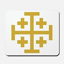 Crusaders Cross Mousepad