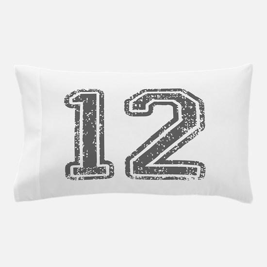 12-Col gray Pillow Case