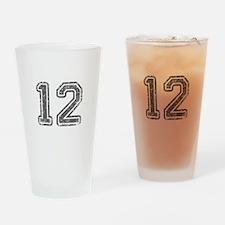 12-Col gray Drinking Glass