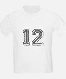 12-Col gray T-Shirt