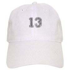 13-Col gray Baseball Baseball Cap