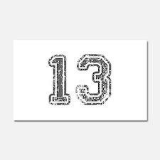 13-Col gray Car Magnet 20 x 12
