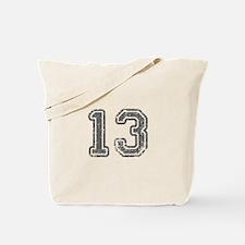 13-Col gray Tote Bag