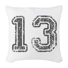 13-Col gray Woven Throw Pillow