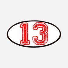 13-Col red Patch