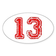 13-Col red Decal