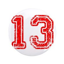 """13-Col red 3.5"""" Button (100 pack)"""