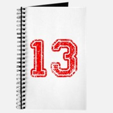 13-Col red Journal