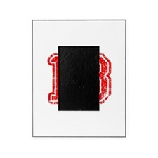 13-Col red Picture Frame