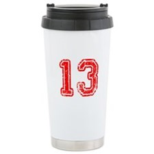 13-Col red Travel Mug