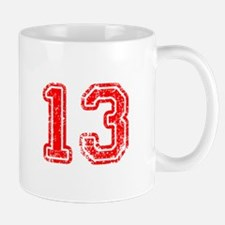13-Col red Mugs